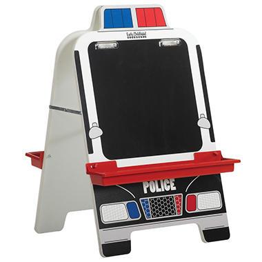 ECR4KidsChildren's Police Car Easel