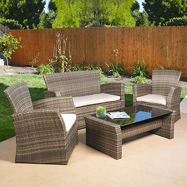 Mission Hills Redondo Seating Set 4 pc