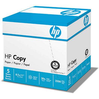 HP Copy Paper 92 Brightness/20 lb. 8 1/2