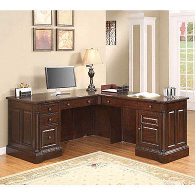 Whalen Furniture Milan Computer Return Desk Sam 39 S Club