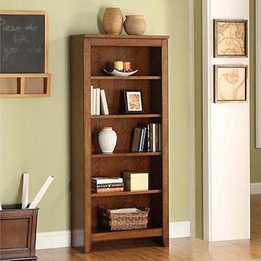 Whalen Mission Hills Collection 5 Shelf Bookcase Sam S Club
