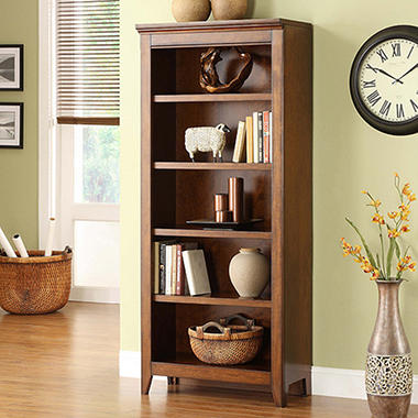 Addison Collection 5-Shelf Bookcase
