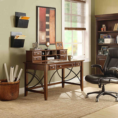 Brandt Writing Desk with Hutch