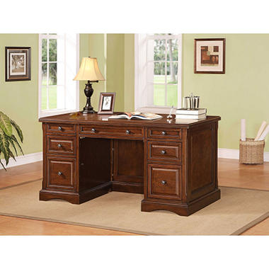 Pearson Collection Full Double Pedestal Desk