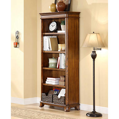 Whalen Furniture Belhaven Open Bookcase