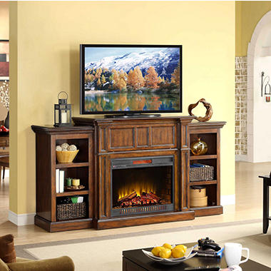Woodbury Electric Fireplace Wall