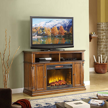 Harrison Fireplace TV Console