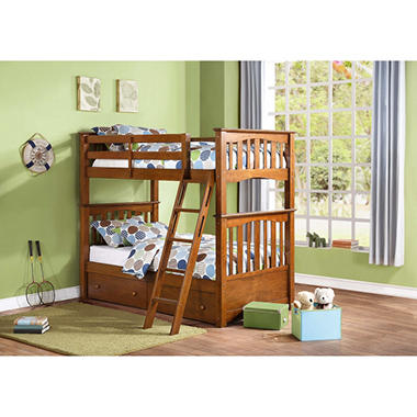 Cameron Bunk Bed with Storage