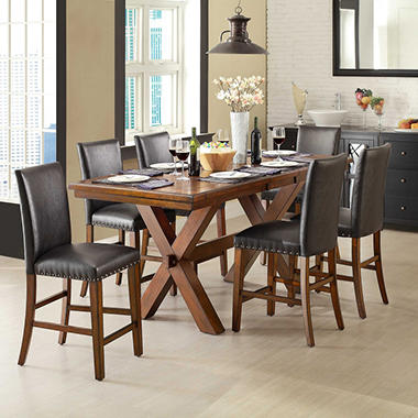 Crossridge Counter Height Dining Set - 7 pc.