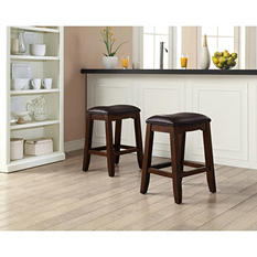 Tenison Saddle Stools (2 pk.)