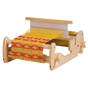 Schacht Hard Maple and Plywood Cricket Student Loom, 5-3/4 X 13-3/8 X 18 Inches