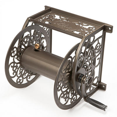 Cast Aluminum Wall Mount Hose Reel