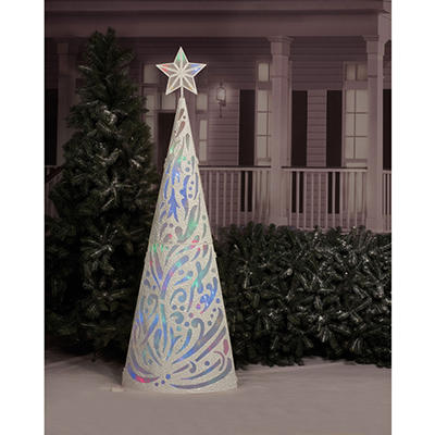 LED Cone Tree with 8 Functions - 84""