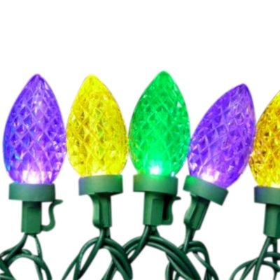 Led Mardi Gras String Lights : Mardi Gras LED Lights - 28