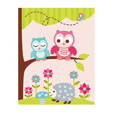 "Kid's Spot Rug (46"" x 52""), Various Prints"