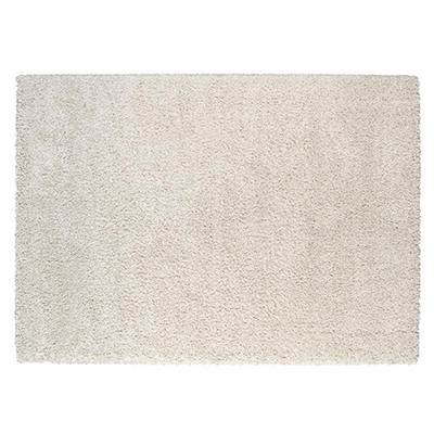 Soho Shag Rug, White (5' x 7')
