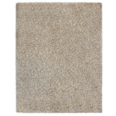 Sale Laura Ashley 8 X10 Shag Rug Bisque 81456 Cheap