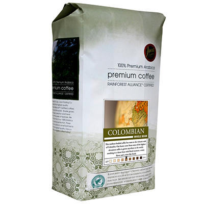 Java Trading Co. Colombian Whole Bean Coffee - 2 lbs.