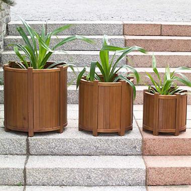 Bell Flower Pots - 3 pk.