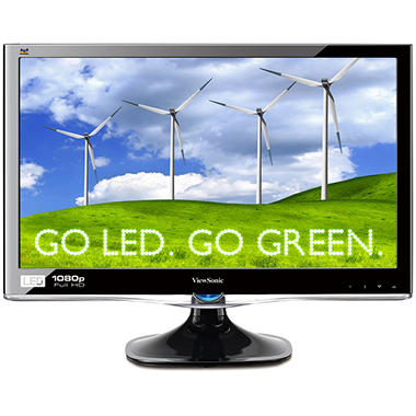"24"" ViewSonic VX2450wm-LED Widescreen Monitor"