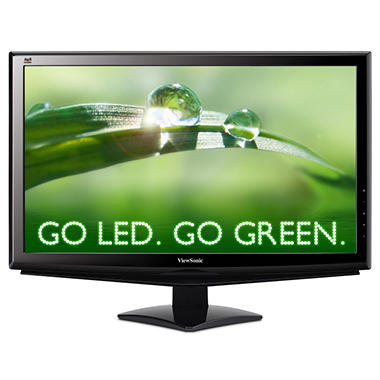 "24"" ViewSonic VA2448m-LED Widescreen Monitor"