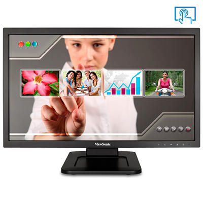 """22"""" ViewSonic TD2220 Multi-Touch HD LED Monitor"""