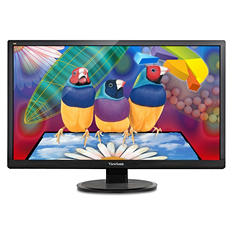 "ViewSonic's VA2855SMH,  28"" Wide LCD  1920 x1080  HDMI  VGA  Speaker  VA55-ID,  Black"