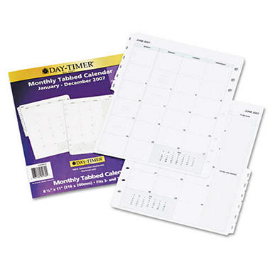 Day-Timer Dated Planner Refill - 2-Page/Month