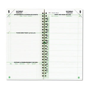 Day-Timer Original Dated Two-Page-per-Day Organizer Refill, Jan.-Dec., 3-1/2 x 6-1/2 - 2013