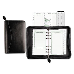 Day-Timer - Recycled Bonded Leather Starter Set, 3 3/4 x 6 3/4 -  White