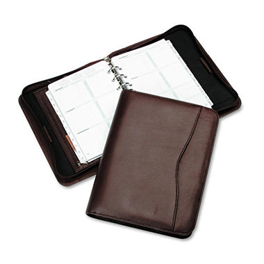 Personal Organizer Starter Set, Verona Leather Bin