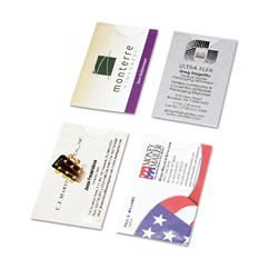 Day-Timer Business Card Holders for Loose-leaf Planners, 5 1/2 x 8 1/2 -  5/Pack