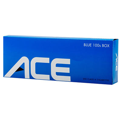 Ace Blue 100s Box - 200 ct.
