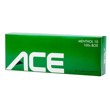 Ace Green Menthol 100s Box - 200 ct.