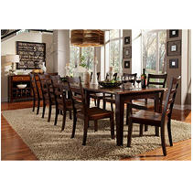 Click here for Layla 9 Piece Dining Set (Table,8 Chairs) prices