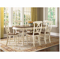 Click here for Mia 7 Piece Dining Set (Table,6 Chairs) prices