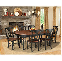 Click here for Jacob 7 Piece Dining Set (Table,6 Chairs) prices