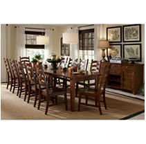 Click here for Scarlett 11 Piece Dining Set (Table 10 Chairs) prices