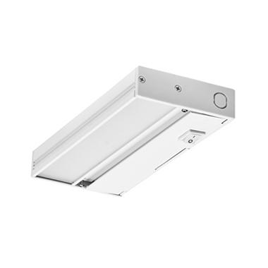 nicor slim white dimmable led under cabinet lighting fixture sam 39 s. Black Bedroom Furniture Sets. Home Design Ideas