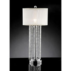 "Crystal-Accent 30.5"" H Table Lamp"
