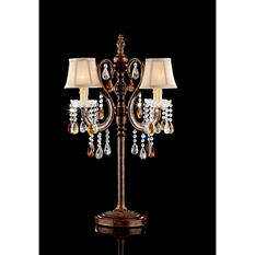 "Chandelier-Style 32"" H Table Lamp"