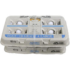Extra-Large Eggs (18 ct. carton, 2 pk.)