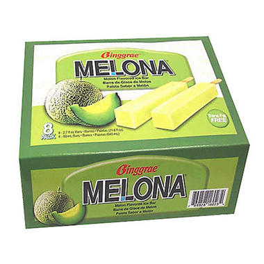 Melona Melon Flavored Ice Bars - 10 pack