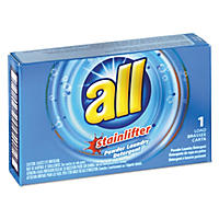 All Ultra Coin-Vending Powder Laundry Detergent, 1 load (100 ct.)