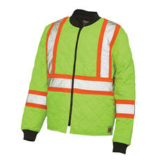 Work King Hi-Vis Freezer Jacket (Available in Big & Tall)