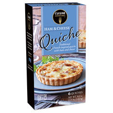 Cuisine Adventures Ham and Cheese Quiche (36 oz., 6 pk.)