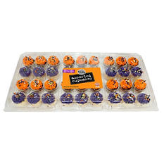 Halloween Two-Bite Assorted Cupcakes (36 ct.)
