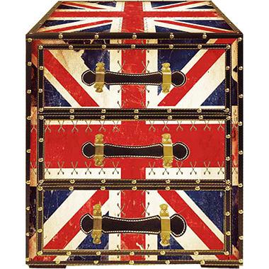 London 3-Drawer Trunk