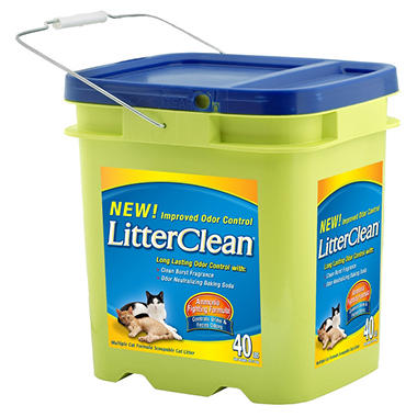 LitterClean Cat Litter - 40 lbs.