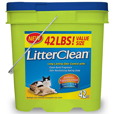 LitterClean Cat Litter - 42 lbs.